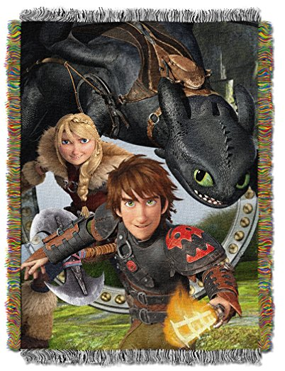 DreamWork's Dragons 2 Tapestry Throw Blanket by The Northwest Company