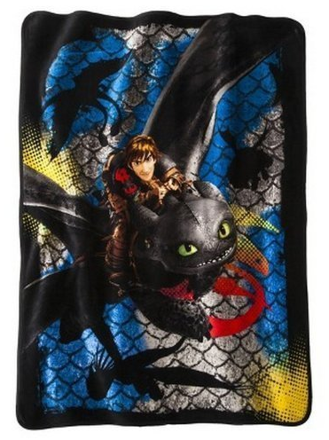 How to Train Your Dragon Plush Throw by Northwest