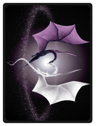 Love Dragons Fleece Blanket