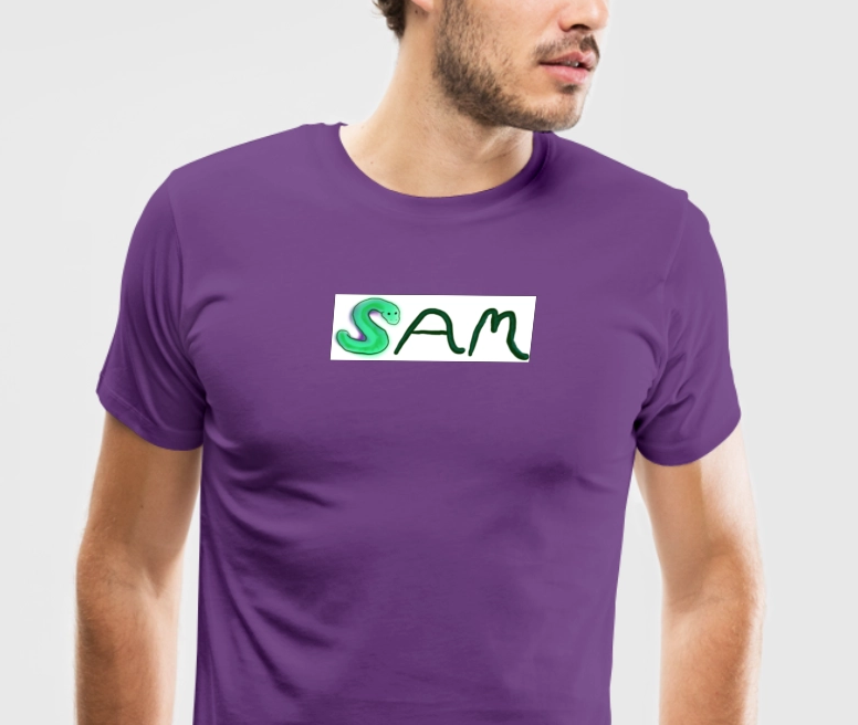 Sam design from Spreadshirt